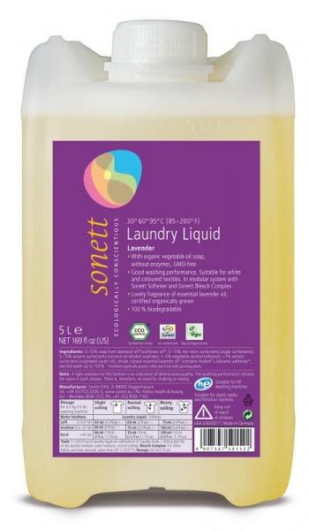 SONETT Prací gel Objem 5000 ml, plast.obal