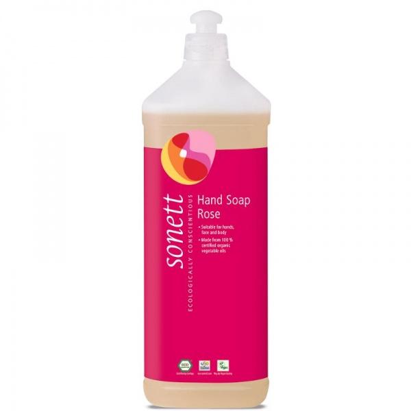 SONETT Tekuté mýdlo na ruce Růže Objem 1000 ml, plast.obal