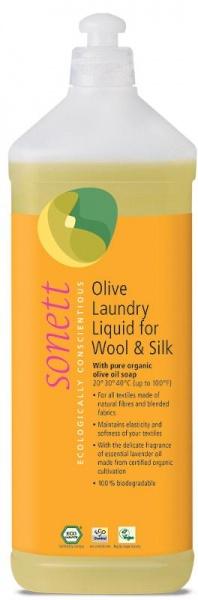 SONETT Olivový prací gel na vlnu a hedvábí Objem 1000 ml