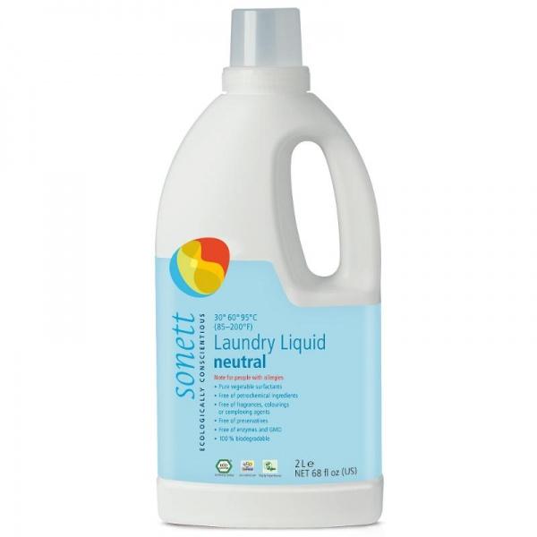 SONETT Prací gel NEUTRAL Objem 2 l
