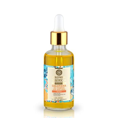 NATURA SIBERICA Rakytníkový olej pro konečky vlasů Objem 50 ml