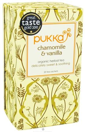 PUKKA Ajurvedský čaj Heřmánek a Vanilka čaje 20 x 2 g (Chamomile and Vanilla)