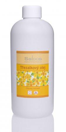 SALOOS Třezalkový olej - olejový extrakt Objem 500 ml, plast.obal