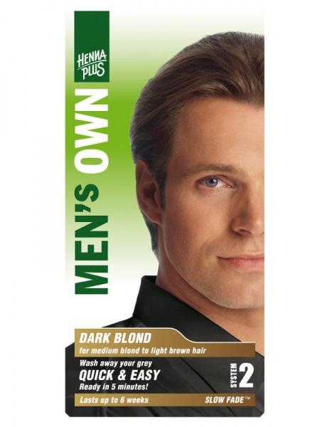 HENNA PLUS Přírodní barva pro muže TMAVÁ BLOND Objem 1 balení