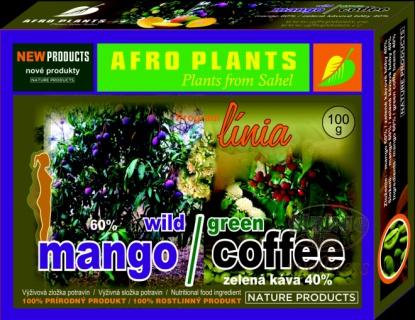 AFRO PLANTS Mango se zelenou kávou Objem 100 g