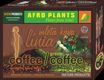 HERBAL HILLS Zelená káva Objem 150 g