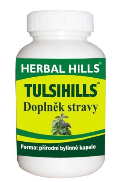 HERBAL HILLS Tulsihills Bylinné kapsle 60 kapslí
