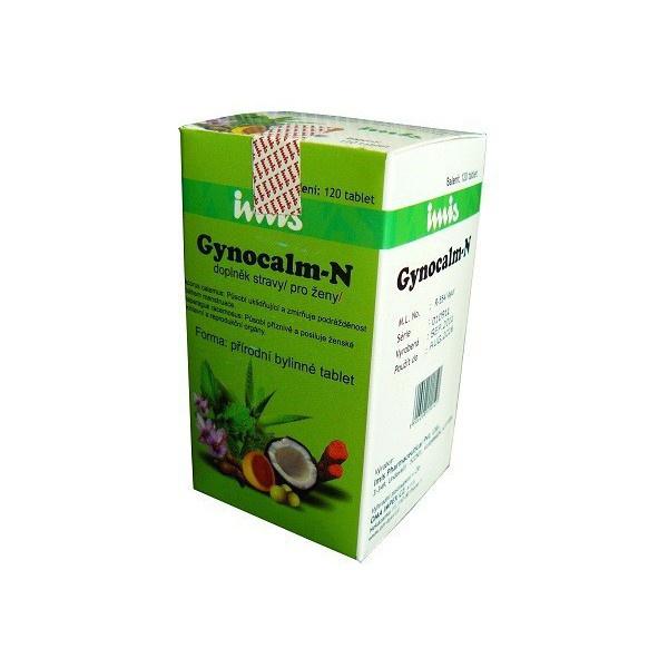 IMIS Pharmaceutical Gynocalm Bylinné kapsle 120 kapslí