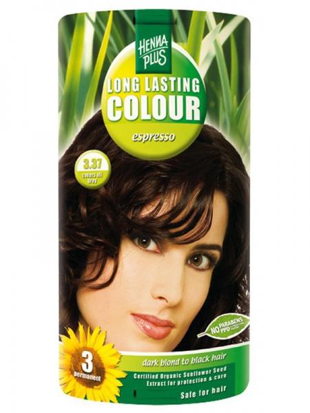 HENNA PLUS Dlouhotrvající barva ESPRESSO 3.37 Objem 1 balení