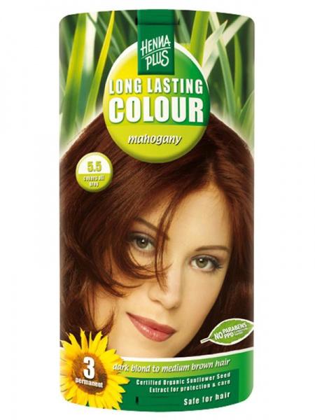 HENNA PLUS Dlouhotrvající barva MAHAGON 5.5 Objem 1 balení