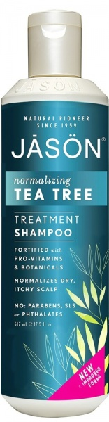 JASON Šampon proti lupům s Tea tree Objem 517 ml