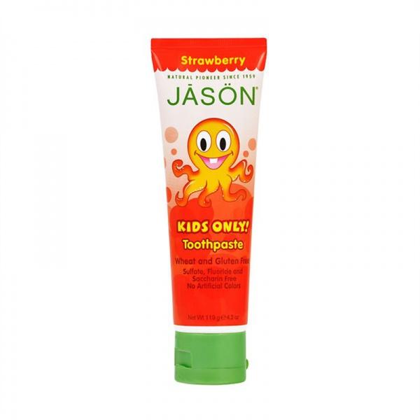 JASON Kids Only zubní pasta jahoda pro děti Objem 119 g
