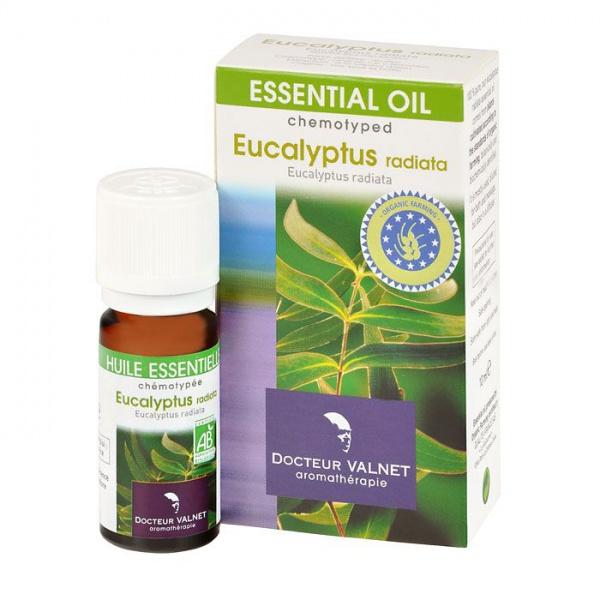 DOCTOEUR VALNET Éterický olej eukalyptus radiata BIO Objem 10 ml