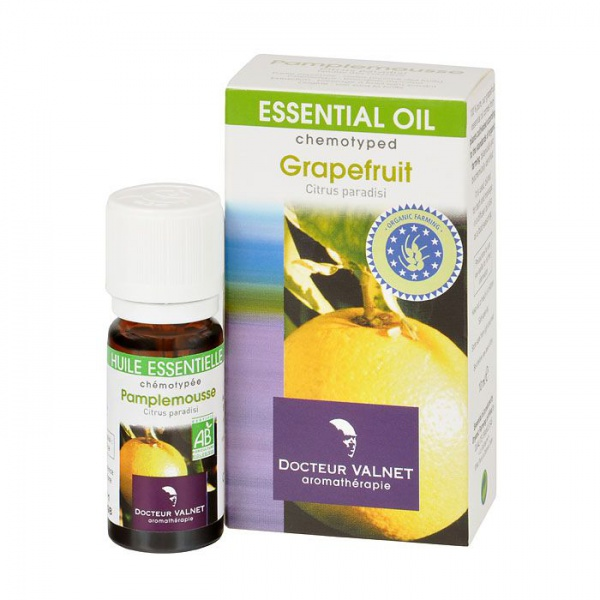 DOCTOEUR VALNET Éterický olej Grapefruit BIO Objem 10 ml