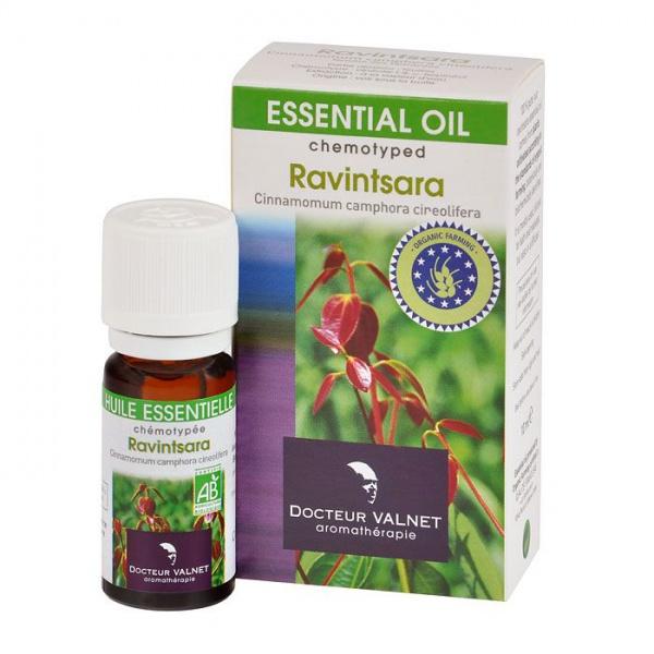 DOCTOEUR VALNET Éterický olej Ravintsara BIO Objem 10 ml