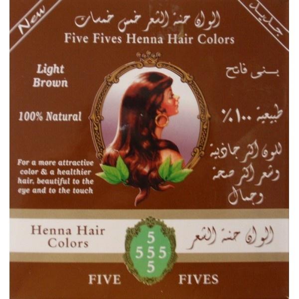 FIVE FIVES Henna Lamda Hnědá Objem 100 g