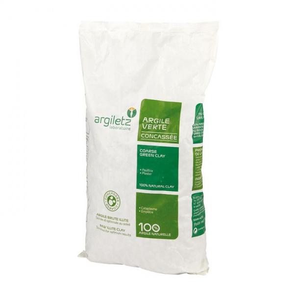 ARGILETZ Jíl zelený drcený Objem 3 kg