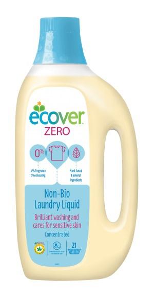 ECOVER Gel na praní Zero Objem 1,5 l