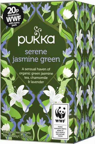 PUKKA Ajurvedský čaj zelený Supreme Matcha čaje 20 x 1,5 g