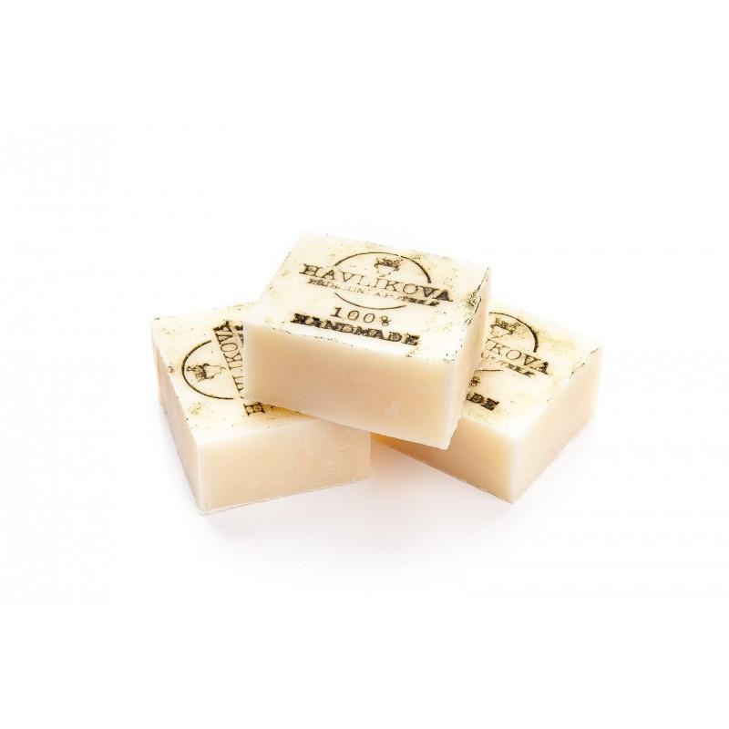 HAVLÍKOVA APOTÉKA Mýdlo na vlasy s kopřivou, vejcem a arganovým olejem Objem 85 g