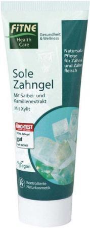 FITNE SOLE Zubní gel 75 ml Objem 75 ml