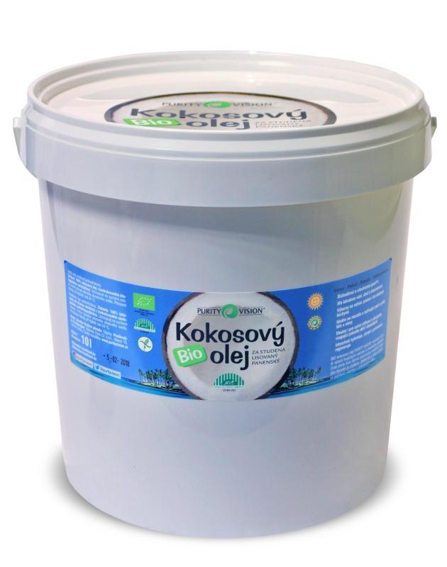 PURITY VISION BIO Kokosový olej Objem 10 kg