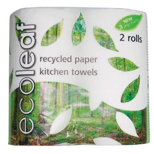 ECOLEAF Kuchyňské papírové utěrky Objem 1 balení
