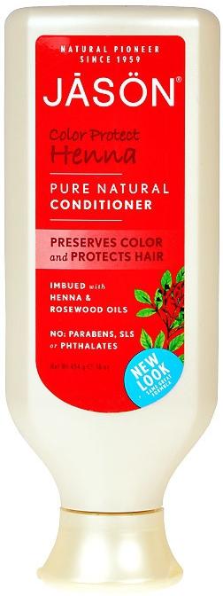 JASON Vlasový kondicionér Henna Objem 473 ml pro barvené vlasy