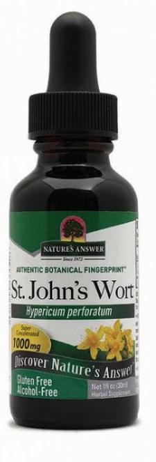 NATURE´S ANSWER Holistické bylinné kapky Třezalka tečkovaná Objem 30 ml (Saint John´s Wort)