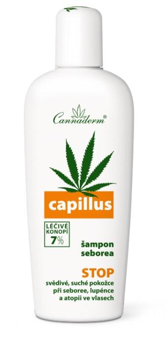 CANNADERM Capillus šampon seborea Objem 150 ml