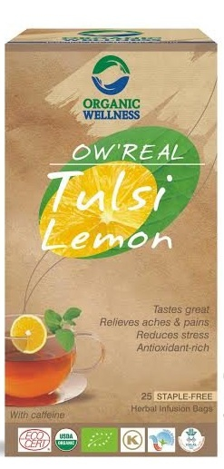 ORGANIC WELLNESS BIO Tulsi s citronovou trávou čaje 25 x 1,55 g