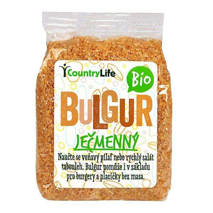 COUNTRYLIFE Bulgur ječmenný BIO Objem 250 g