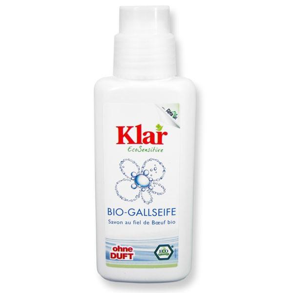 KLAR Žlučové mýdlo na skvrny Objem 250 ml