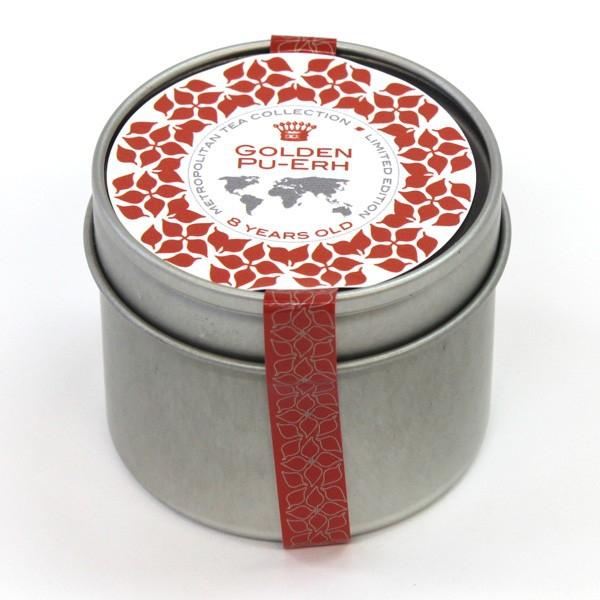 METROPOLITAN TEA Sypaný čaj PU-ERH zlatý starobylý 8-letý čaje 25 g
