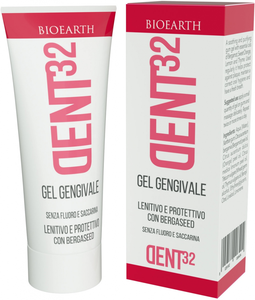BIOEARTH DENT32 Gel na dásně Objem 20 ml