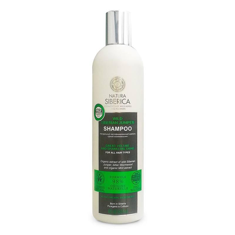 NATURA SIBERICA Šampon pro všechny typy vlasů Divoký Jalovec Objem 400 ml