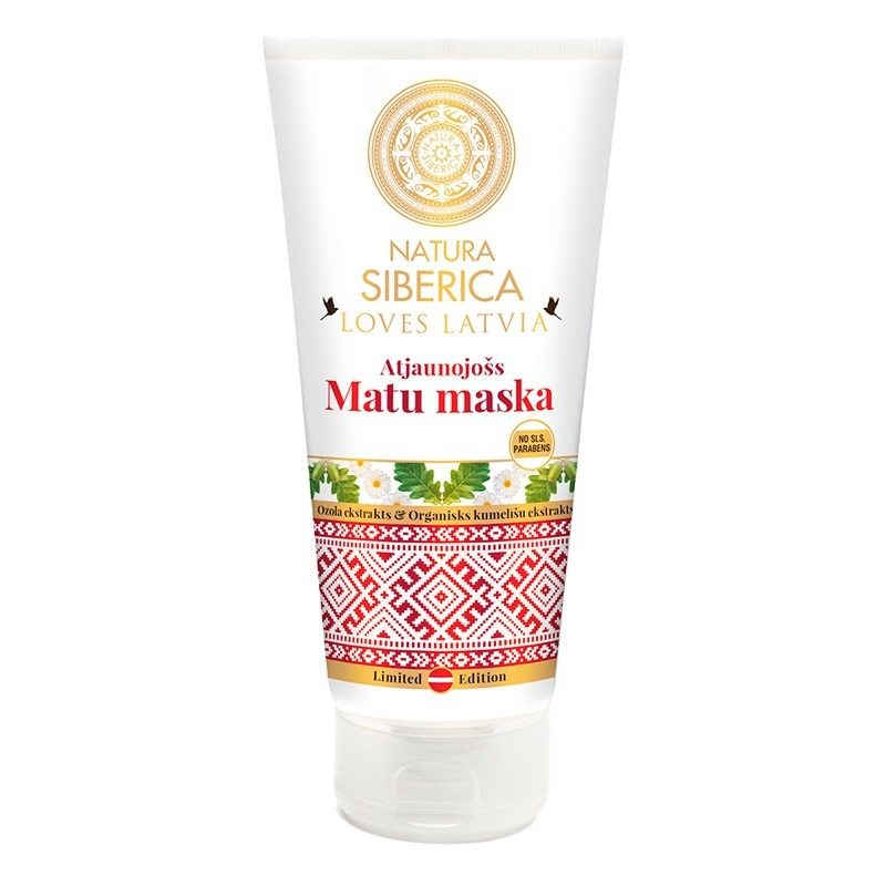NATURA SIBERICA Loves Latvia Maska na vlasy regenerační Objem 200 ml
