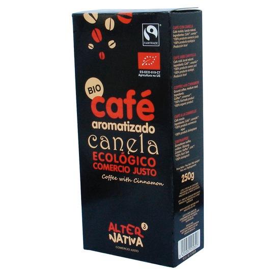 ALTERNATIVA3 BIO Mletá káva SKOŘICE Objem 250 g