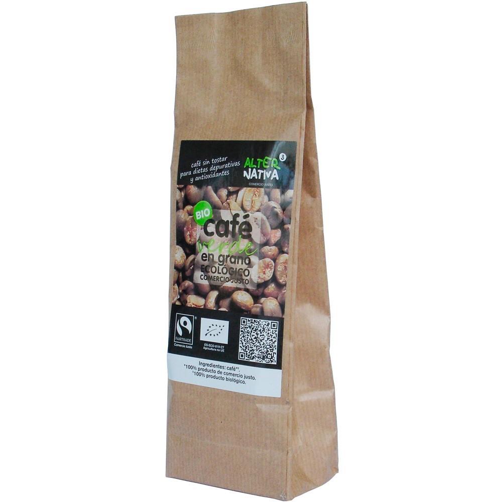 ALTERNATIVA3 Bio Zelená zrnková káva Objem 150 g