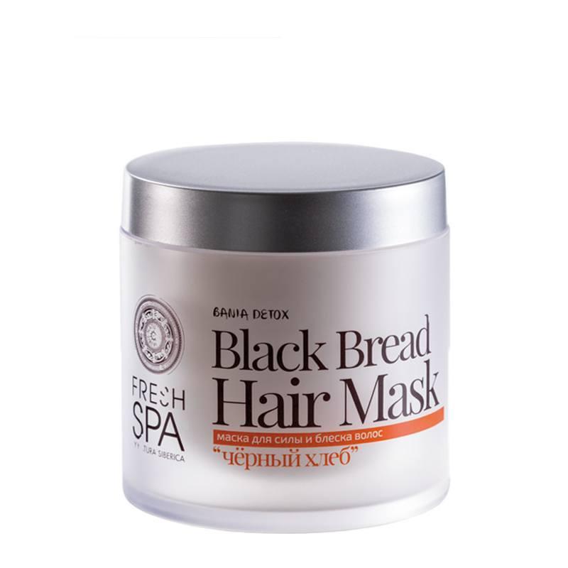 NATURA SIBERICA Bania Detox – Vitaminová maska pro oslabené vlasy Plodový kvas Objem 400 ml