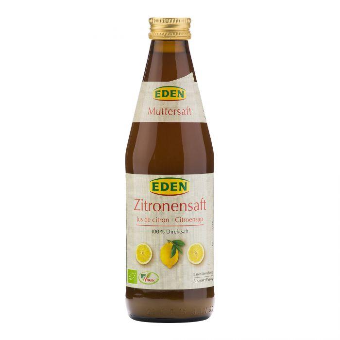 EDEN Šťáva citronová BIO Objem 330 ml
