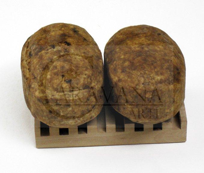 TROPICAL NATURALS Černé africké mýdlo syrové Objem 150 g
