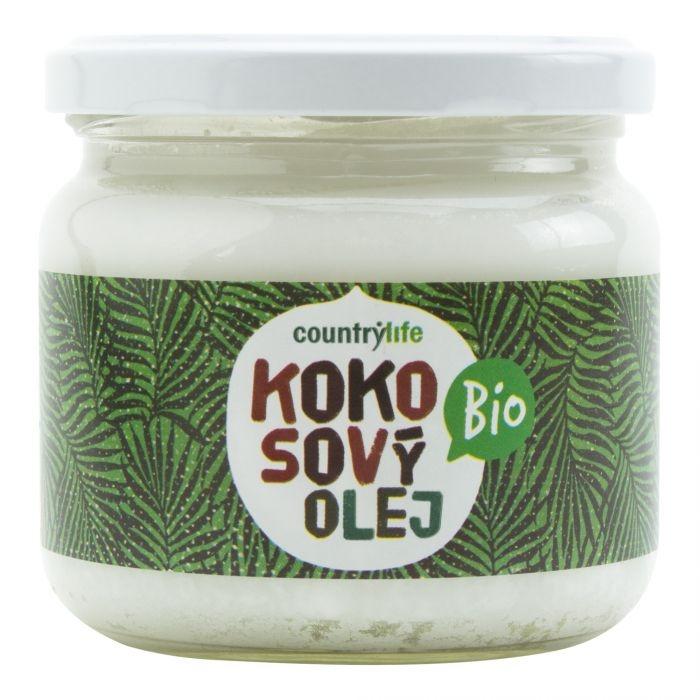 COUNTRYLIFE Olej kokosový BIO Objem 300 ml