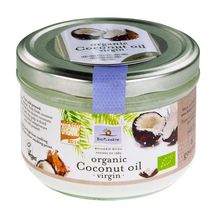 BIOPLANETE Olej kokosový BIO Objem 200 ml