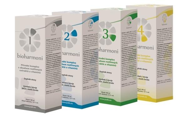 JOALIS Bioharmoni® 1 Objem 4x100 ml