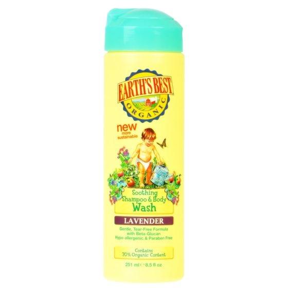 EART´S BEST Šampon na tělo a vlasy Objem 251 ml
