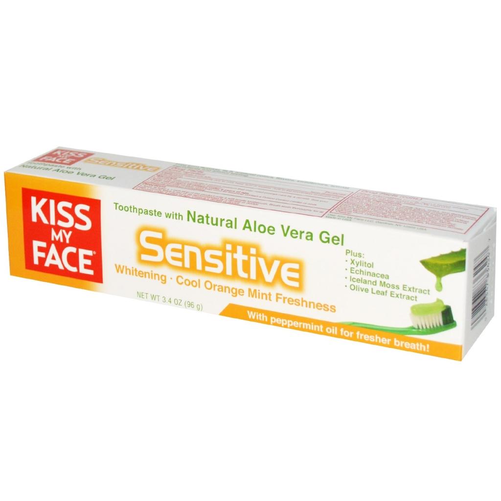 KISS MY FACE Zubní pasta pro citlivé zuby Objem 96 g
