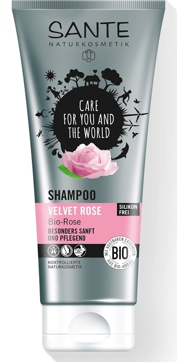 SANTE Šampon Velvet Rose Objem 200 ml