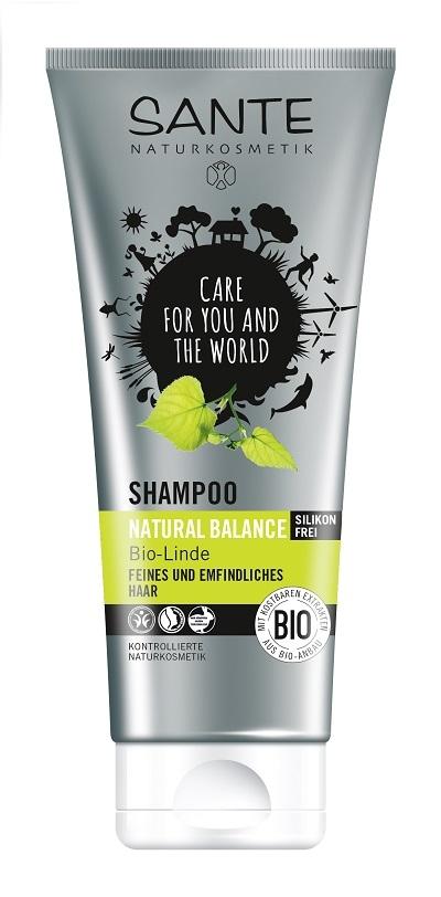 SANTE Šampon Natural Balance Bio Lípa Objem 200 ml
