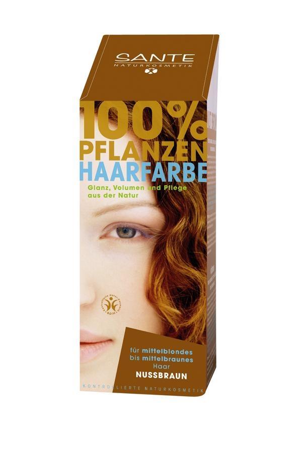 SANTE Rostlinná barva na vlasy Ořechově hnědá Objem 100 g